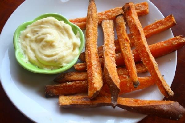 sweet potato fries like you dream for!